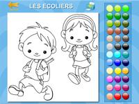 coloriage en ligne des coliers