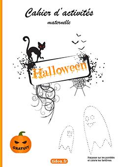 Cahier D Activites Halloween A Imprimer Tidou Fr