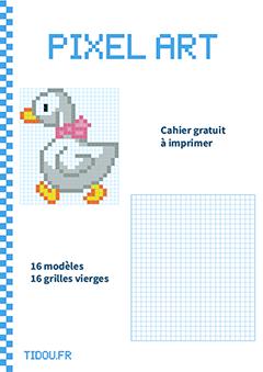 Cahier De Pixel Art Facile Tidoufr