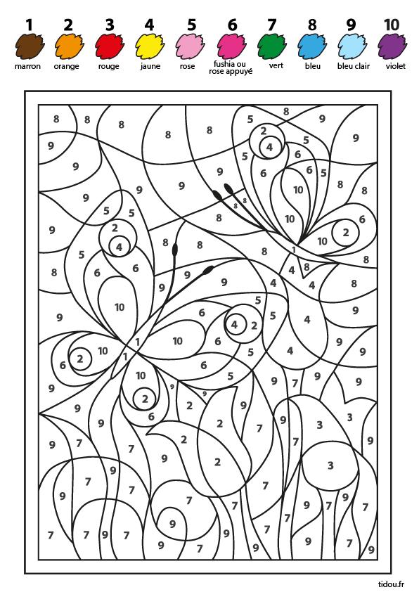 Papillons Et Fleurs Tidou Fr