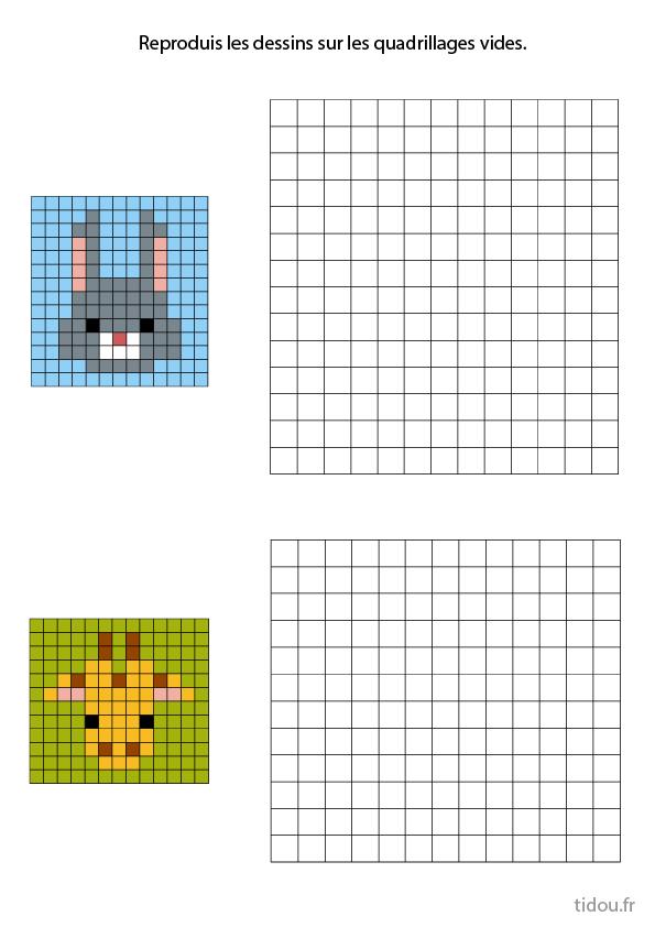 Pixel Art à Reproduire Tidou Fr