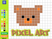Coloriage En Ligne Par Pixel Tidoufr