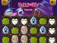 Jeu d'Halloween compatibles ordinateurs et tablettes