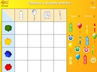 Tableau A Double Entree Jeu En Ligne Tidou Fr